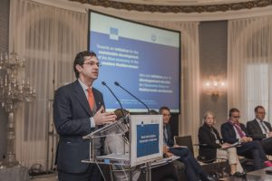Miguel García-Herraiz (UfM) highlighting the overall conclusions and the next steps