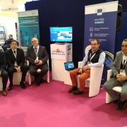westmed assistance mechanism team at booth euromaritime 2020 - France