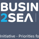 announcement poster business to sea conference