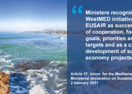 poster of sea with ministerial endorsement text