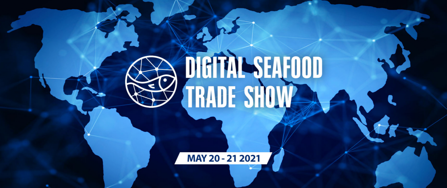 digital seafood trade show poster