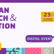 European Research and innovation days event announcement poster