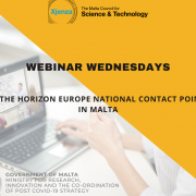 webinar wednesday event poster