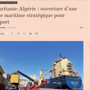 screenshot financial afrik with ship in port