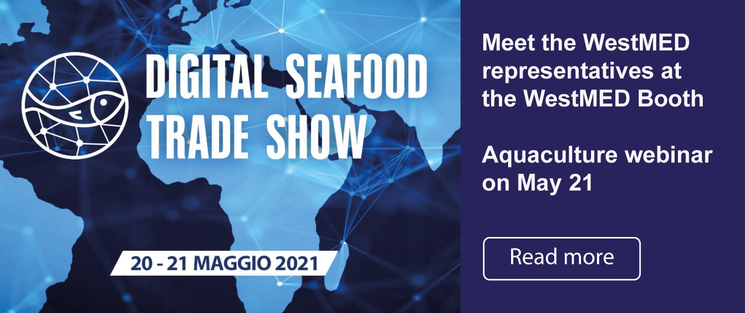 seafood trade show event poster
