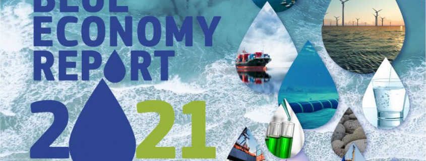 front cover blue economy report 2021