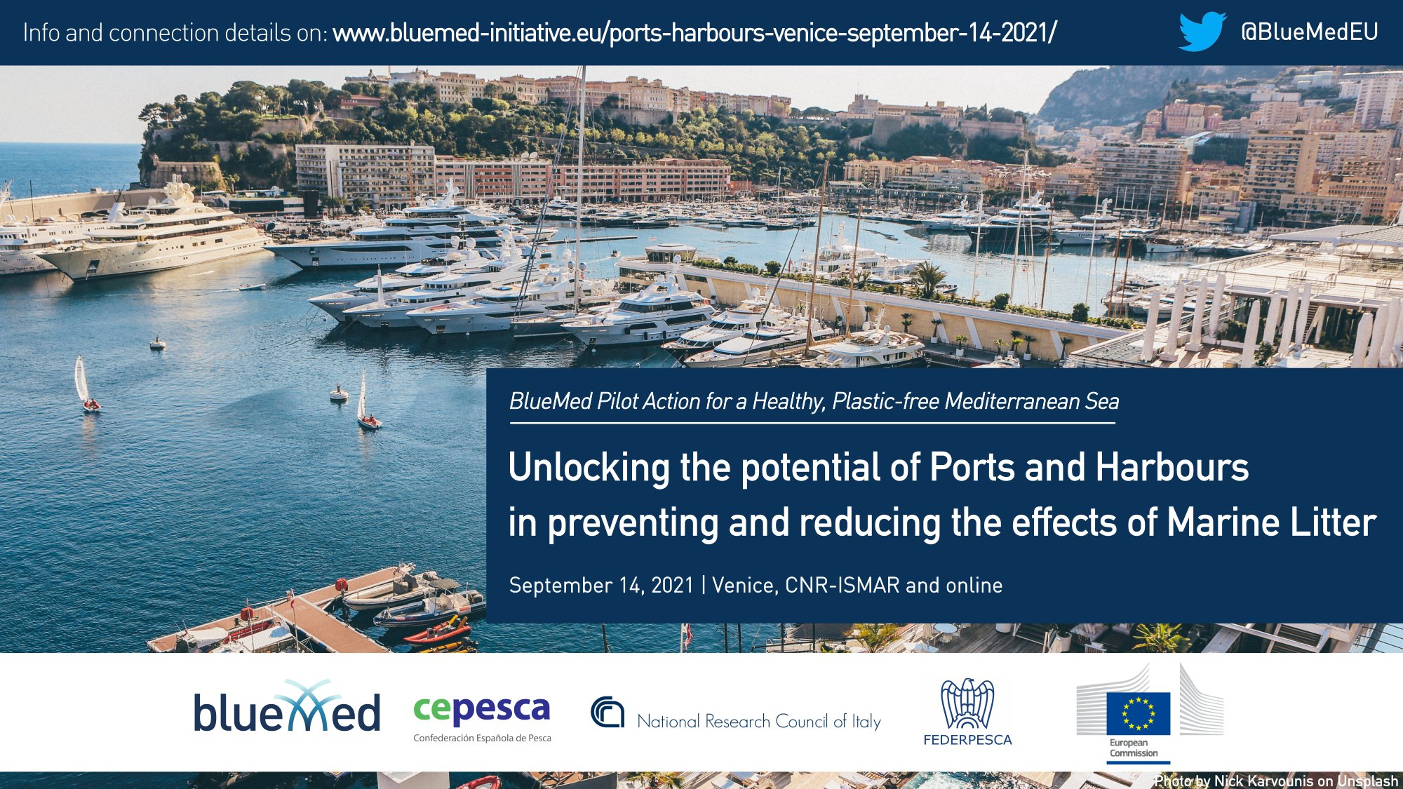 port with yachts - event announcement