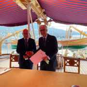 signing MOU cluster organisations at SEAFUTURE 2021