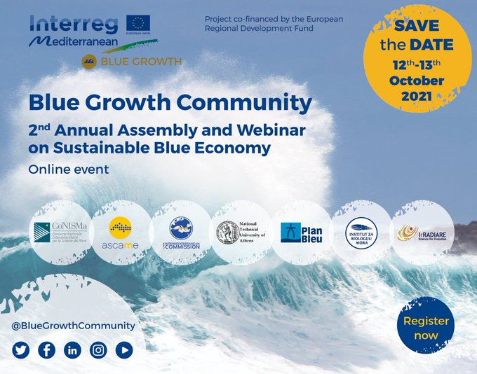 Blue Growth 2nd assembly announcement poster