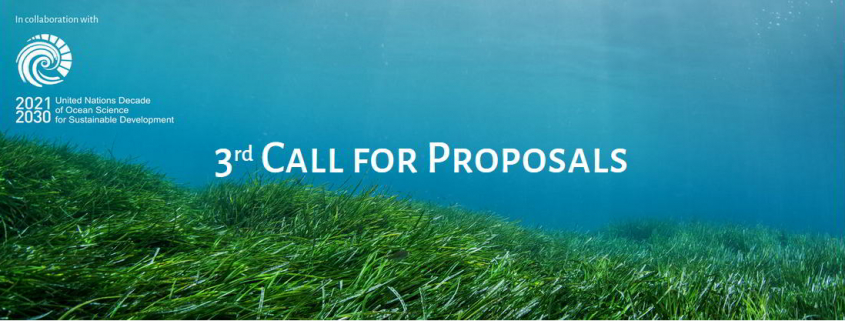 seagrass photo with call-title text