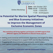 msp and blue economy europe-Japan poster